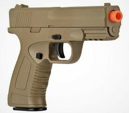High Quality Full Metal Airsoft Spring Pistol Shoot Hard at