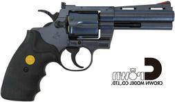 """Crown Model"" Hop Up Air Revolver No.11 COLT Python 4inch Bl"