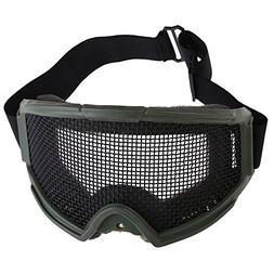 Vktech Hunting Airsoft Tactical Eyes Protection Metal Mesh P