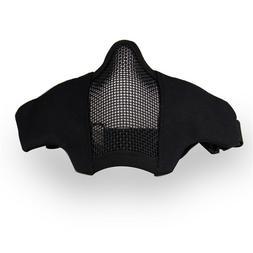 iMeshbean Tactical Protective Mesh Mask Foldable Half Face M