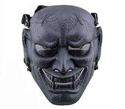 Phoenix Outdoor Japanese Samurai Metal Mesh Full Face Protec