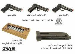 KJW  M9 Co2 Magazine 10 pack 12g co2 cartridges Airsoft Pist