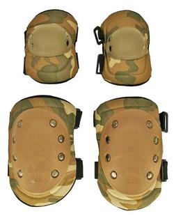 Tactical Crusader Knee and Elbow Pads, Desert Camouflage