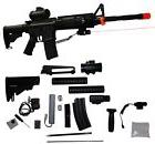 256-in-1 M83 Clone Electric Airsoft Rifle AEG Gun M4 M16 - T