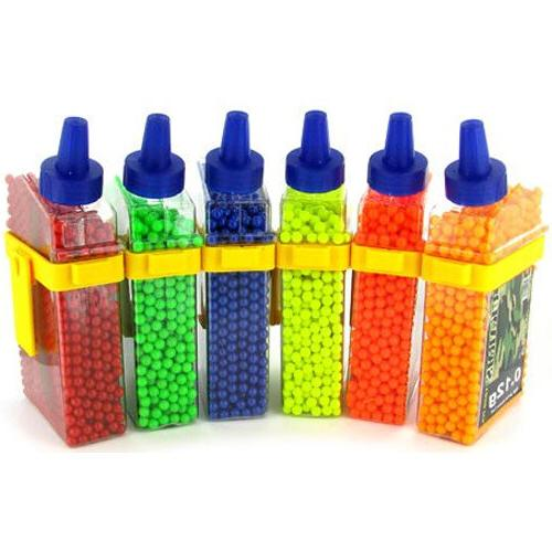 1650 UKARMS SEAMLESS .12g AIRSOFT BB PELLETS BOTTLE 6mm BBs