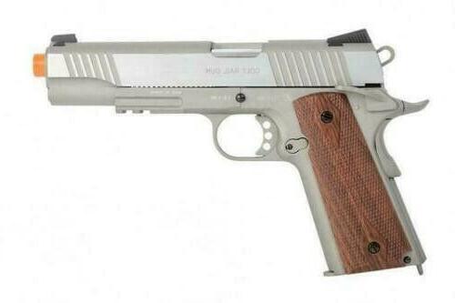 Colt 1911 Full Metal Blowback Co2 Airsoft Gun Pistol Brown H