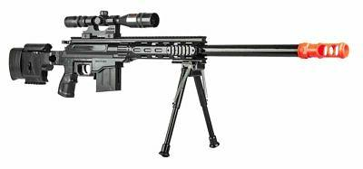 300 FPS - Airsoft Sniper Rifle Gun - Tactical Setup - 37 3/4