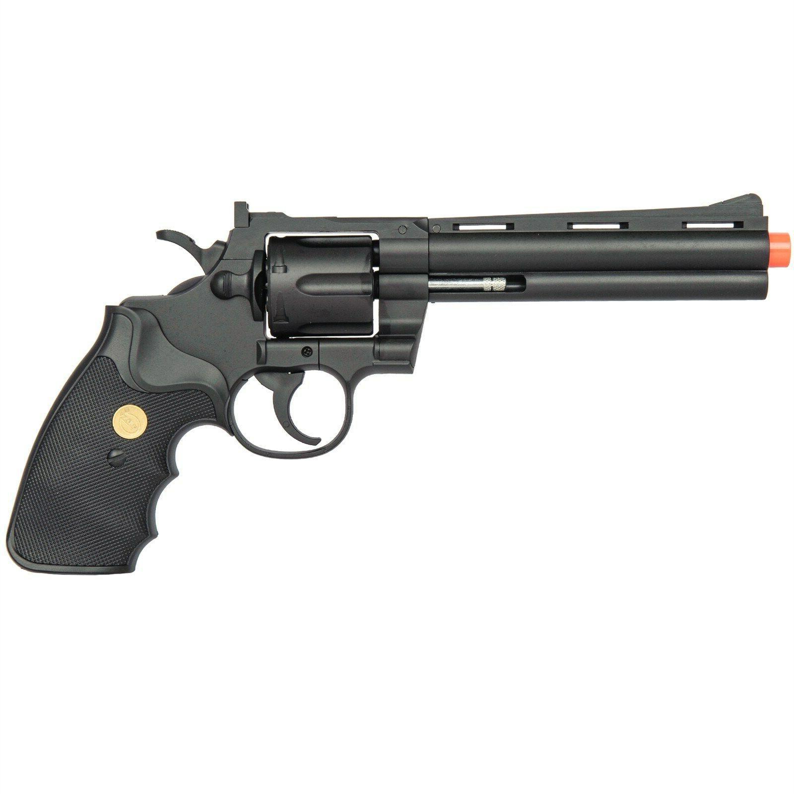 357 MAGNUM REVOLVER FULL SIZE SPRING AIRSOFT PISTOL HAND GUN