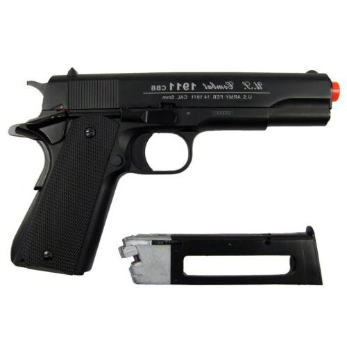 400 AIRSOFT METAL GAS BLOWBACK PISTOL w/ BBs
