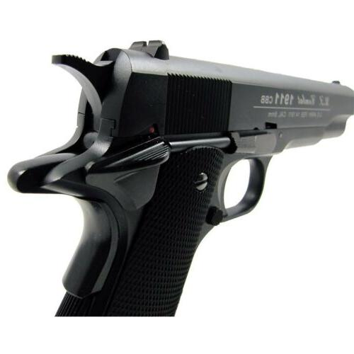 400 WG AIRSOFT METAL M 1911 GAS BLOWBACK HAND PISTOL w/ BB BBs