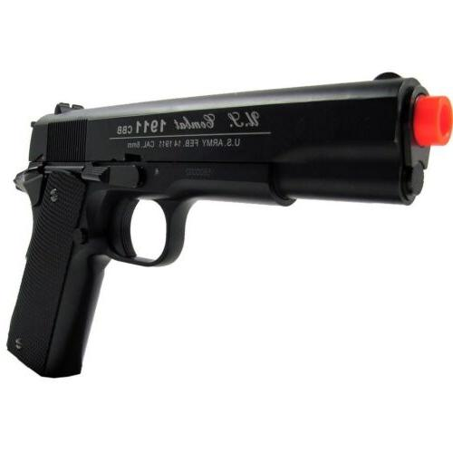 400 FPS METAL M 1911 CO2 GAS PISTOL w/ BBs