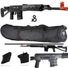 *400 FPS* ALL METAL SVD-S Airsoft Sniper Rifle 6mm & 36' Aft
