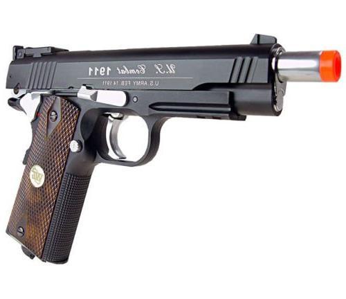 500 new metal 1911 co2 gun w/ 6mm bb