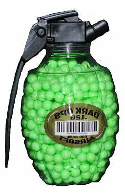 800 AIRSOFT BB GRENADE BOTTLE Pellets 6mm .12g BBs Pistol Gu
