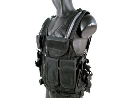 MetalTac Airsoft Tactical Vest Pockets Large