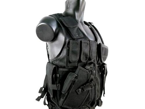 MetalTac Airsoft Tactical with Pockets and Large