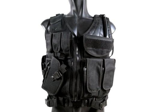 airsoft cross draw tactical vest