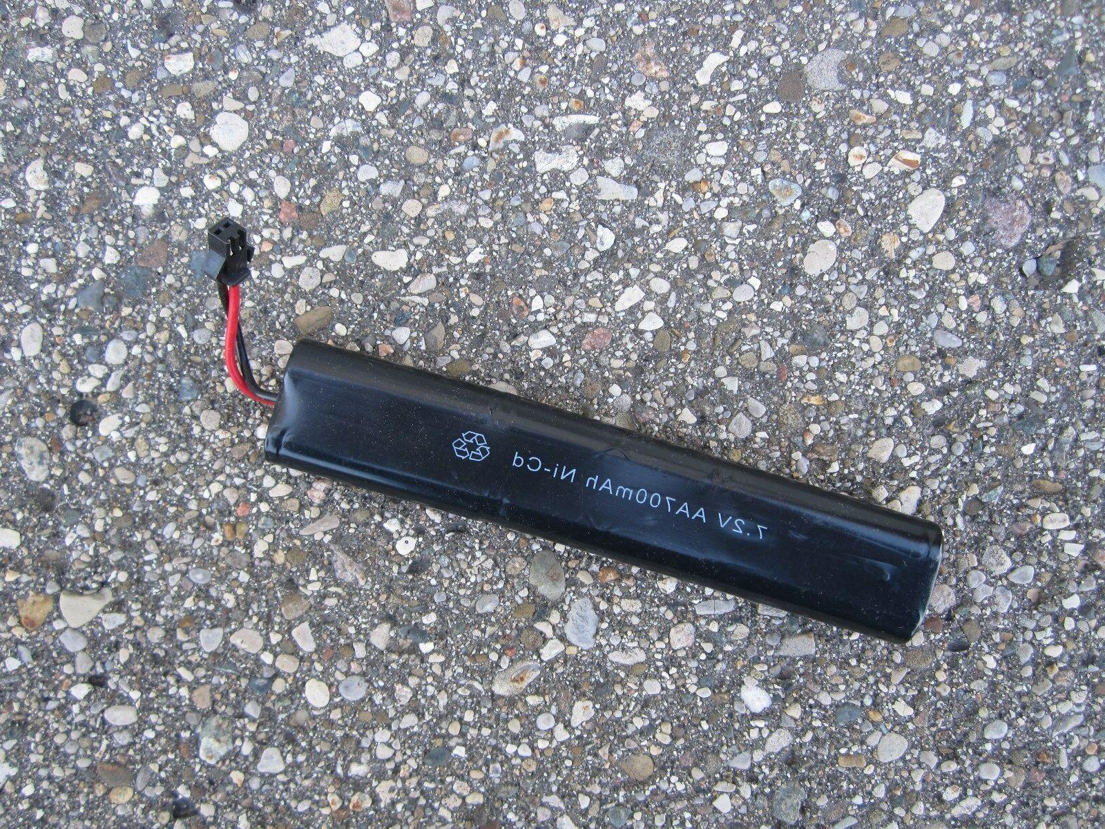 New Airsoft Gun 7.2v AA 700mAh Ni-cd Battery for Cm022 Made