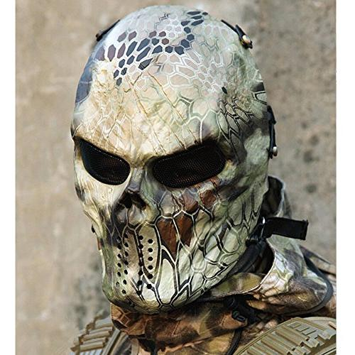OutdoorMaster Full Mask Mesh Eye Protection