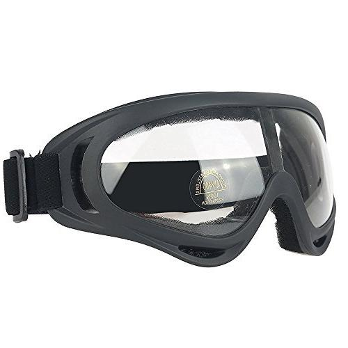 Infityle Half Face Mask and Goggles