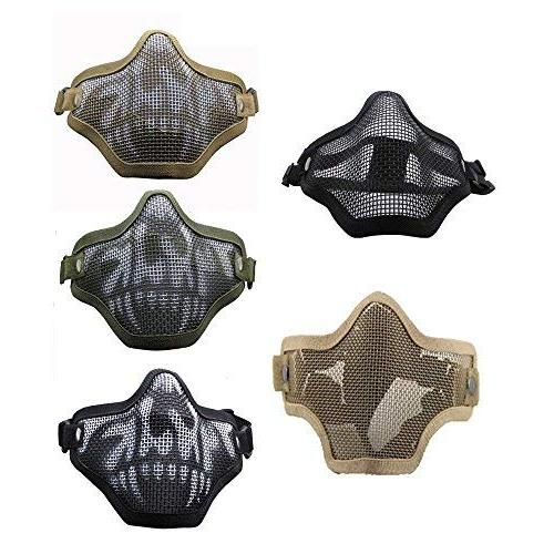 Infityle Airsoft Half Face Goggles Paintball,
