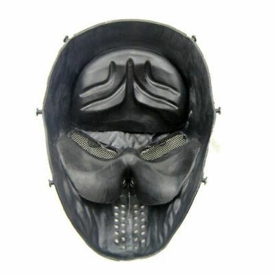 Airsoft Paintball Tactical Full Face Game Protect