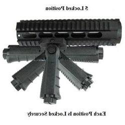 ar15 Tactical Vertical Foregrip 5 Position Folding Grip Fold