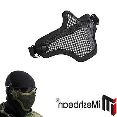 Military Airsoft SWAT Protective w/ Goggle mask