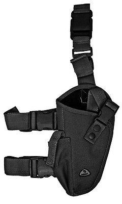 Black Elite Right Handed Tactical Leg Holster Hunt BB Airsof