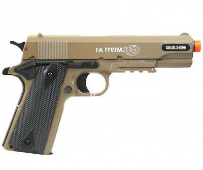 Colt M1911A1 Spring Airsoft Pistol Tan HPA full licensed met