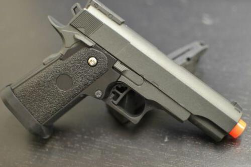 Compact 1911 Airsoft Handgun AIR SOFT HAND GUN G10 All Metal