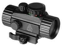 UTG 1x30mm Compact ITA Red/Green Circle Dot Sight, 1/2 MOA,