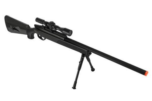 CYMA Spring Powered Airsoft Gun Bolt Action Sniper Rifle w/