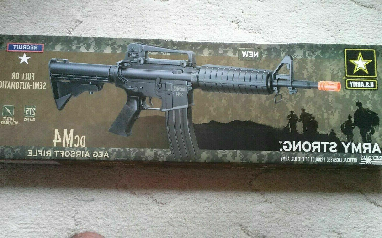 Crosman DCM4 Duty Calls AEG US Army airsoft rifle NEW