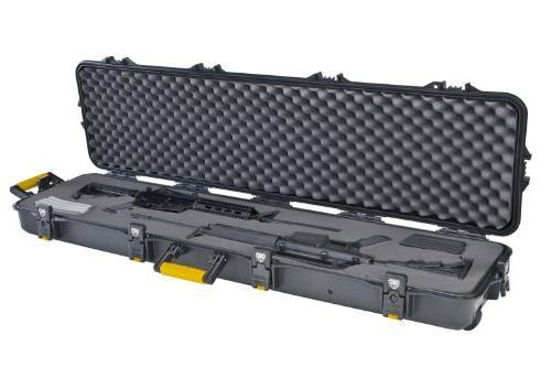double scoped rifle case w