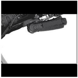 UTG Ergonomic Ambidextrous 5-position Foldable Foregrip - Bl