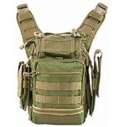 NcSTAR Vism First Responders Utility Bag, Green with Tan
