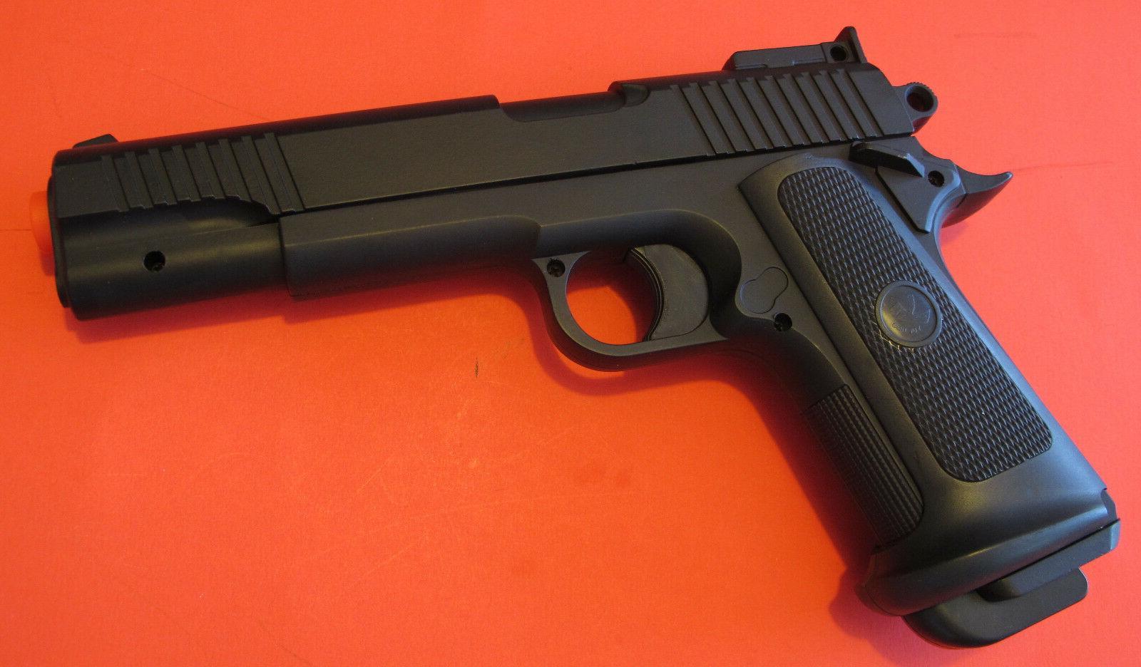 Full Metal Body, Metal Slide Airsoft Spring Pistol P911 Shoo