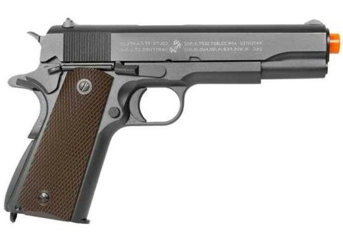 Full Metal Colt 1911 CO2 Blowback Airsoft Pistol Toy by KWC