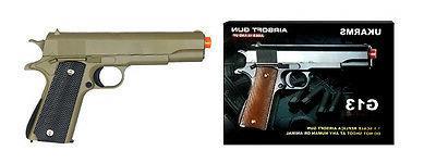 NEW Spring Action M1911 Colt 1911 Metal OD Green