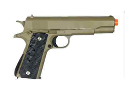 NEW G13 Galaxy Spring Colt 1911 Metal Gun OD