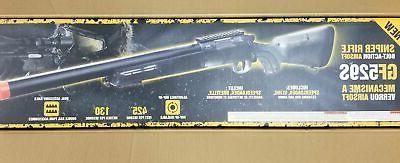 Crosman Game Face Airsoft Bolt Sniper 350FPS w/.20g New