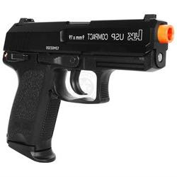 KWA H & K USP Compact Gas Blowback Pistol w/ NS2 Gas System