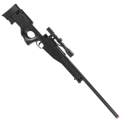 L96 AWP Bolt Action Spring Powered Airsoft Sniper Rifle With