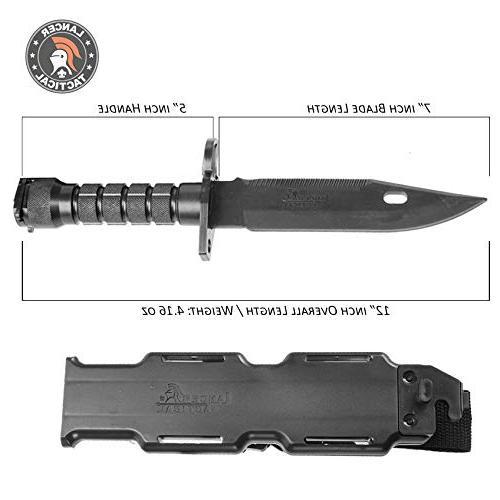 Lancer Tactical CA-07 Rubber Knife/Bayonet for Guns