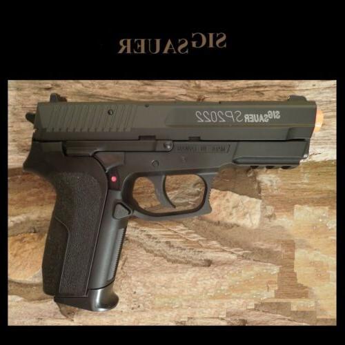 Sig Sauer Licensed SP2022 C02 Airsoft Hand Pistol Gun Bottom