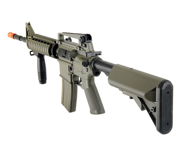 Lancer Tactical M4A1 Tan Metal Gear Rifle
