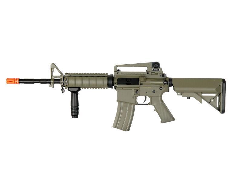 AEG Full/Semi Auto RIS Tan Rifle