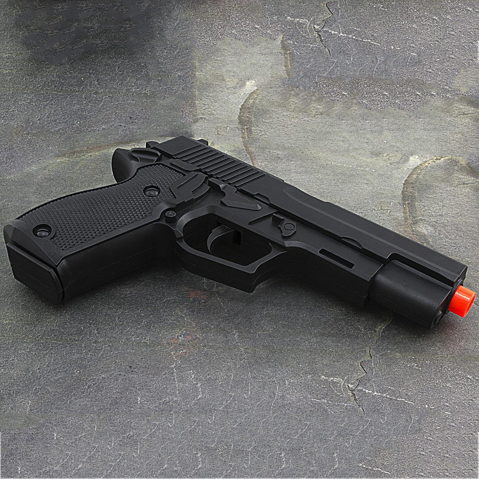 UKARMS SPRING HAND GUN PISTOL 6mm BB Black