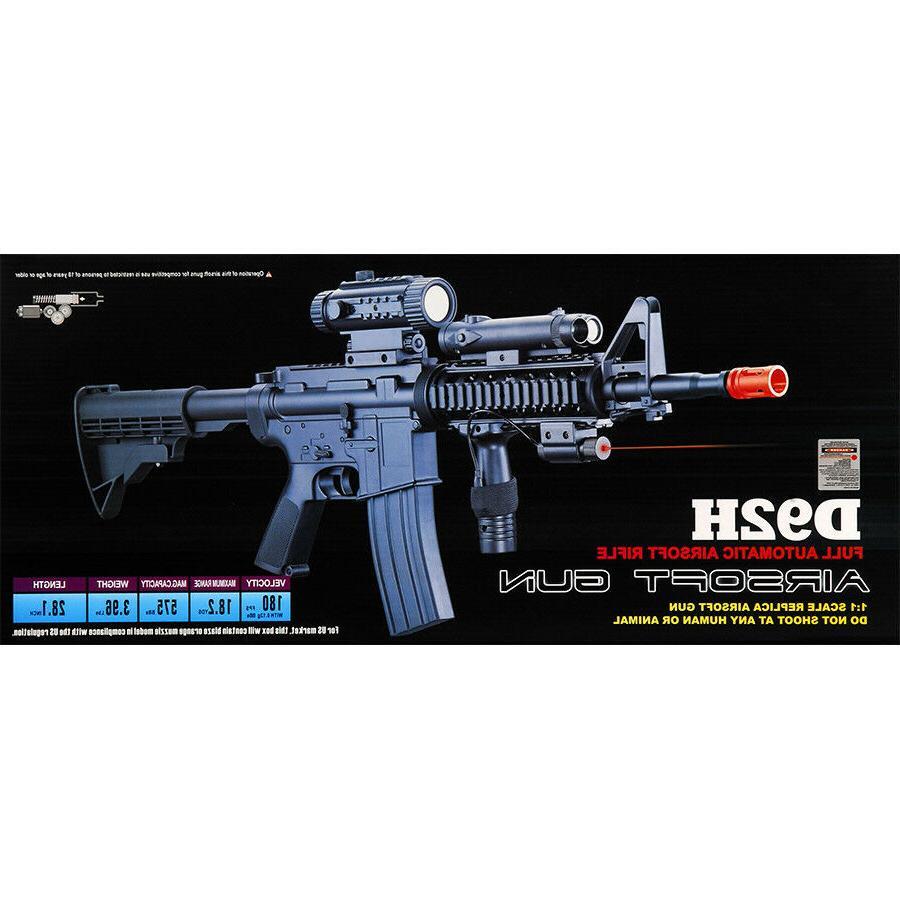 M4 A1 ELECTRIC AUTOMATIC AIRSOFT GUN AEG 6mm BB